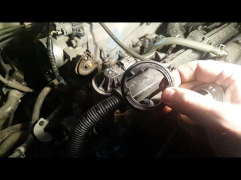 Замена термостата на Honda Odyssey RA6 часть 2/3