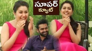 getlinkyoutube.com-Rashi Khanna Making Fun About Ram Dialogue In Hyper | TFPC
