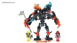getlinkyoutube.com-LEGO Hero Factory 44021 Splitter Beast vs Furno & EVO (Invasion from Below) set review!