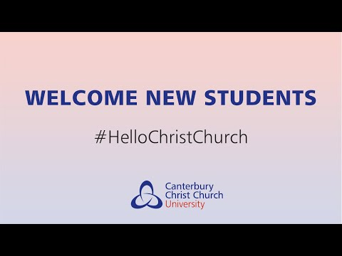 Welcome to Canterbury Christ Church University