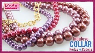 getlinkyoutube.com-Como hacer un collar perlas rosadas con Adri Muñoz Kit 23260