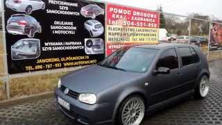 getlinkyoutube.com-Oklejanie karoserii VW GOLF IV - AUTOFAN Jaworzno
