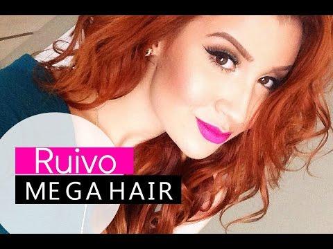 DÚVIDAS SOBRE O MEU RUIVO E MEGA HAIR! Por Bianca Andrade