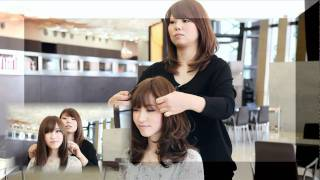 getlinkyoutube.com-Xel-Ha 金子 史 how to haircut.【美容室動画】
