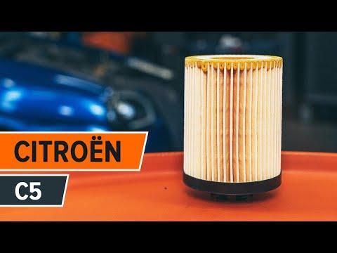Как да сменим моторно масло и маслен филтър на CITROEN C5 (ИНСТРУКЦИЯ)