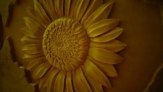 getlinkyoutube.com-Резьба по дереву. Кашпо для цветов. Часть 2