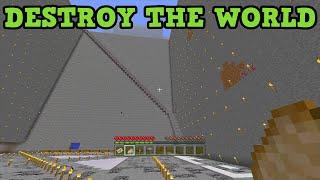getlinkyoutube.com-Minecraft Xbox 360 / PS3 How Long To DESTROY AN ENTIRE WORLD