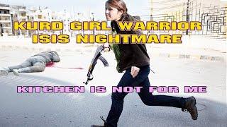 getlinkyoutube.com-KURD FEMALE PESHMERGA FIGHTERS - ISIS NIGHTMARE ☆