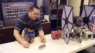 getlinkyoutube.com-Dang Dog's Blog - Disney Elite Fleet Star Wars: First Order Special Forces TIE Fighter