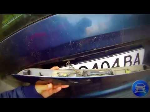 How to fix the boot button Chrysler voyager Как починить кнопку багажника