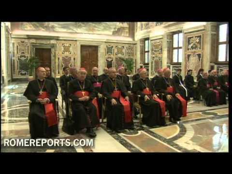 Benedict XVI receives the Pontifical Council for the New Evangelization