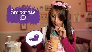 getlinkyoutube.com-Como fazer smoothie com Manoela Antelo  ❤ Mundo da Menina