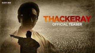THACKERAY The Film Official Teaser (Hindi) | 23 Jan 2019