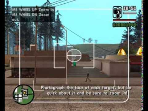 GTA San Andreas - Photo Opportunity - (Syndicate Mission #1) - Mission Help Walkthrough - plus, you can download the PC saved-game in the 'More Info' section -wpZYMtCNfXE