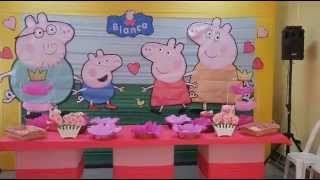 Decoración Peppa Pig - Show Infantiles - Travesuras Kids