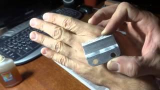 getlinkyoutube.com-Заточка ножей, машинки для стрижки волос