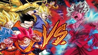 getlinkyoutube.com-Mono AGL Team VS Super Saiyan Blue Kaioken Goku Dokkan Event: 50 Stamina Super Hard: NO STONES!