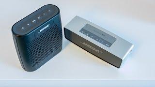 getlinkyoutube.com-Bose Soundlink Colour vs. Soundlink Mini - sound comparison