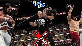 WWE 2K18 Extreme Rules 2018 Top 10 Predictions!