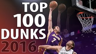 getlinkyoutube.com-Top 100 Dunks of 2016