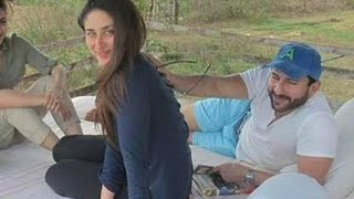 getlinkyoutube.com-Kareena Kapoor And Saif Ali Khan Holiday In Karnataka