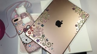 getlinkyoutube.com-DIY-DECORA TU TABLET (iPad Pro 9.7-inch Rose Gold )