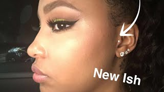 getlinkyoutube.com-Tragus Piercing Experience, Footage & Aftercare
