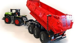 Tractor Dump Trailer