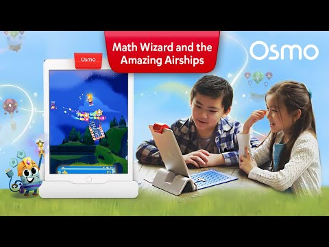 Osmo Maths Wizard and the Amazing Airships Game for iPad - Ages 6-8