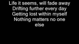 getlinkyoutube.com-Metallica - Fade to black lyrics