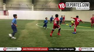 Little Village vs. Latin Angels AKD Premier Premier Soccer League