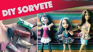getlinkyoutube.com-Como fazer sorvete (picolé) para Barbie, Monster High, EAH etc