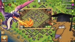 getlinkyoutube.com-Clash of Clans ТХ8 Тактика атаки Драконами (th8 dragon attack strategy)