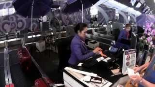 BANGKOK PHUKET THAI AIRWAYS TG205 BUSINESS CLASS 21 10 14