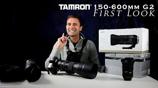 getlinkyoutube.com-Tamron SP 150-600mm f/5-6.3 VC G2 First Look