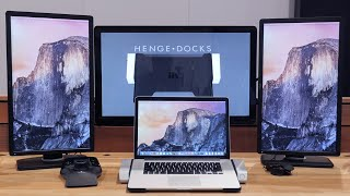 getlinkyoutube.com-Best MacBook Dock Ever?!? (Henge Docks Horizontal Dock)