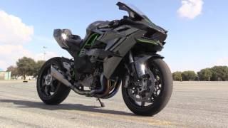 getlinkyoutube.com-Kawasaki H2R Track Test