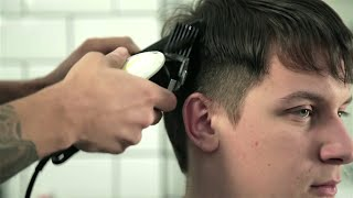 getlinkyoutube.com-Barber School - Basic Clipper Cutting - Using Your Guards - For Beginners (Nomad Barber)