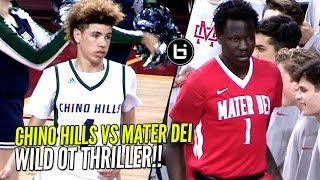 getlinkyoutube.com-Chino Hills vs Bol Bol & Mater Dei!! Overtime Thriller & WILD ENDING In Front of 10,250 People!!