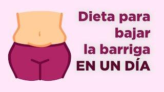 getlinkyoutube.com-Dieta para bajar la barriga en un día | APERDERPESO.COM