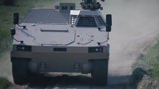 getlinkyoutube.com-PMMC G5 Protected Mission Module Carrier light tracked vehicle FFG Germany German defense industry
