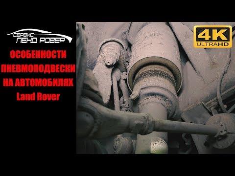 Расположение опор двигателя у Ленд Ровер Дефендер