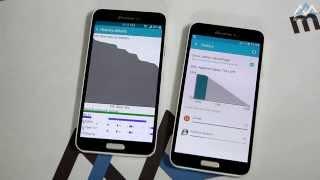 So sánh hệ điều hành Android 5.0 Lollipop và 4.4 Kitkat trên Samsung Galaxy J
