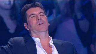 getlinkyoutube.com-Simon Cowell Singing On X Factor