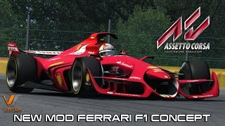 getlinkyoutube.com-New Mod Ferrari F1 CONCEPT @ Spa Francorchamps - Assetto Corsa