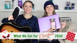 getlinkyoutube.com-What We Got for Christmas 2014 | Brooklyn and Bailey
