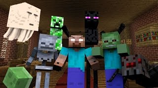 getlinkyoutube.com-Monster School: Hunting - Minecraft