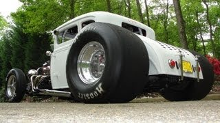 "getlinkyoutube.com-1000+ HORSEPOWER * Pro Street Blown 31 Ford Model A ""COUPEZILLA"" OPEN HEADERS * BY RONNIE MILLER"