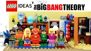 getlinkyoutube.com-LEGO® Ideas 21302 The Big Bang Theory w/ Leonard Sheldon Penny Howard Raj Amy & Bernadette Review