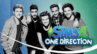 ONE DIRECTION   LOS SIMS 4